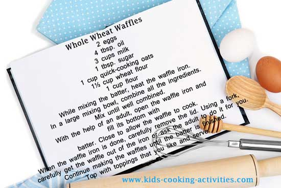 wafle recipe