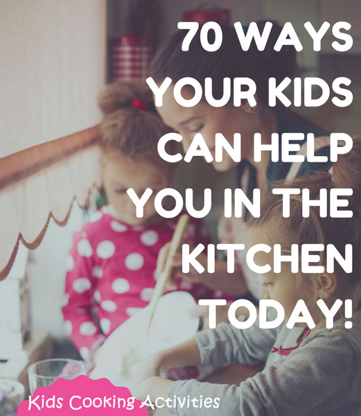 ways kids can cook