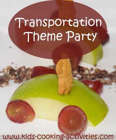 transportation recipe ideas