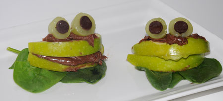 lily pad apple frogs
