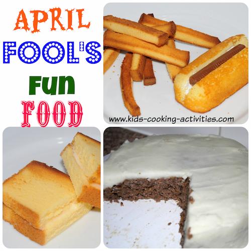 april fool's food fun