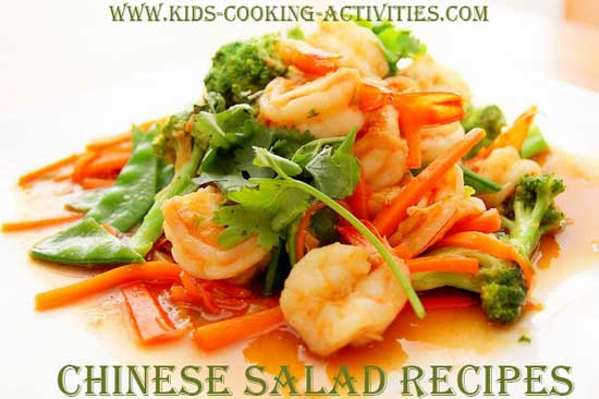 chinese salad recipes