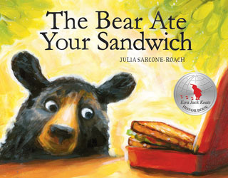 bear ate sandwich