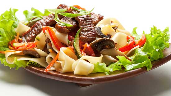 beef pasta salad