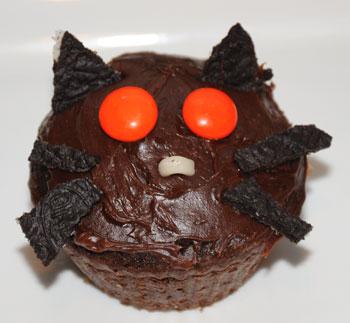 cat cupcake