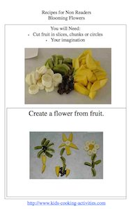 fruit flowers picture recipe