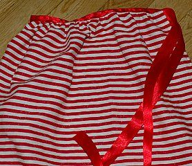 sew a skirt apron