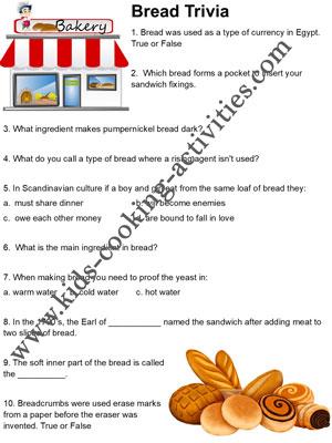 bread trivia