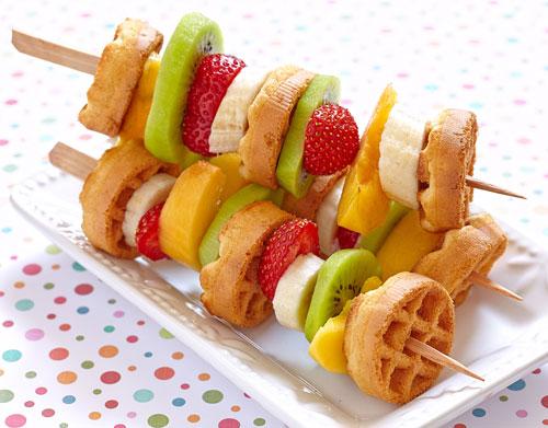 breakfast fruit kabob