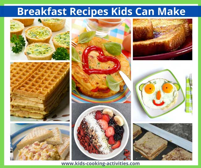 breakfast recipes kids can make