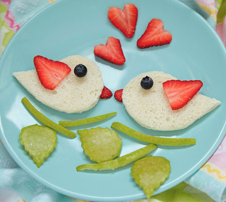 bird theme snack