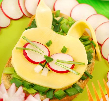bunny sandwich