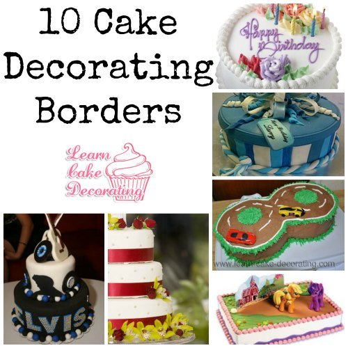 cake borders collage