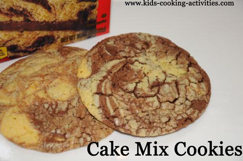 cake mix ideas