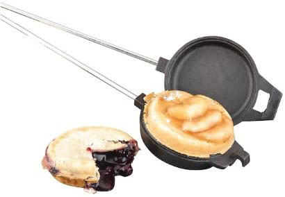 camping cooking iron