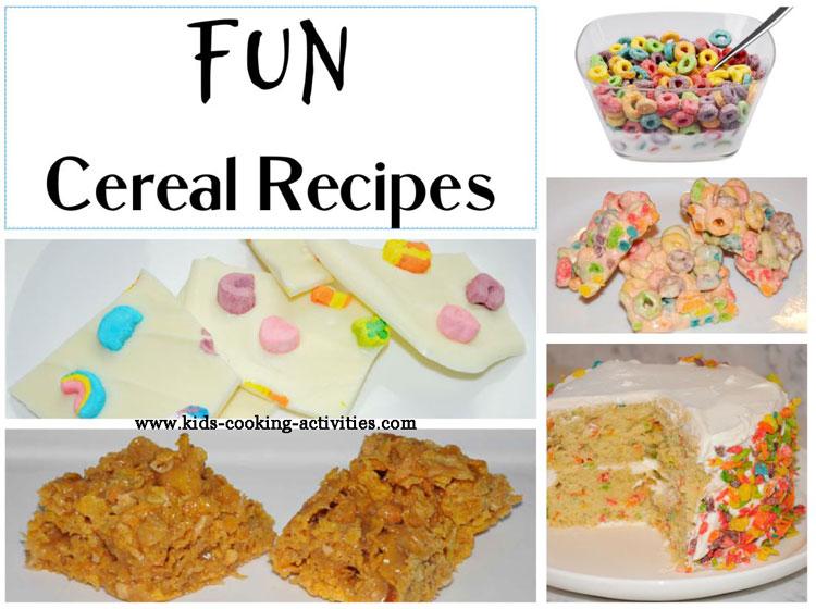 fun cereal recipes