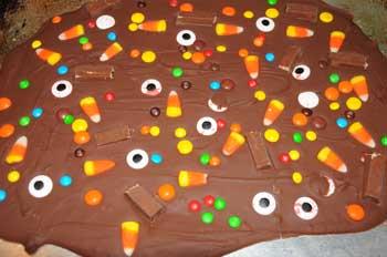 chocolate bark candy