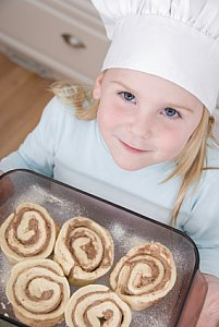 cinnamon roll baker
