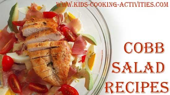cobb salad recipes