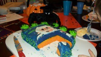 color cake batter