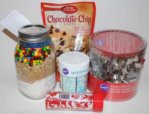 cookie baking gift basket