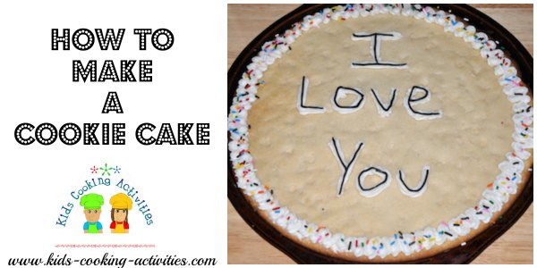 cookie cake decorating how to