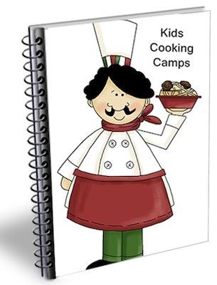 kids cooking summer camp ebook