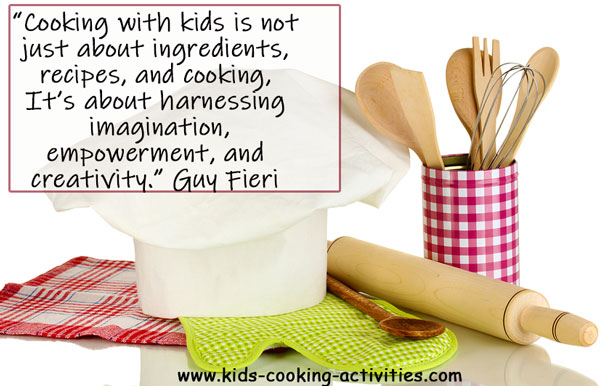 kids cooking quote
