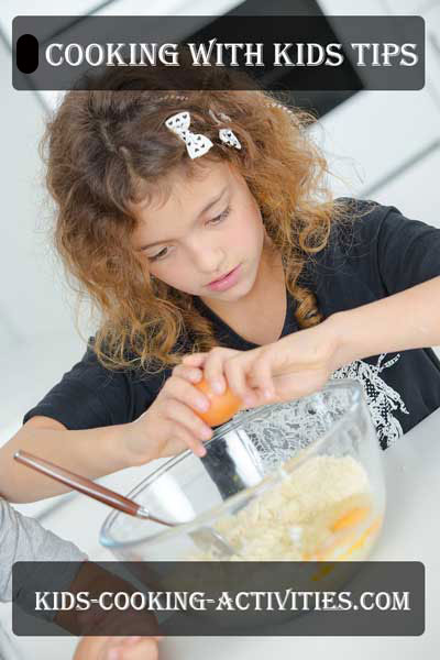 cooking with kids tips