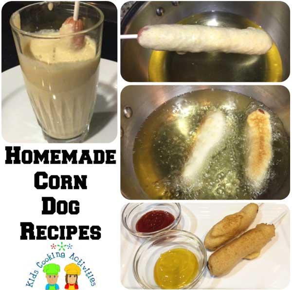 homemade corn dog recipes