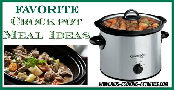 25 crockpot meal ideas