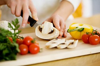 kids cooking lessons chopping vegetables using a sharp knife and knife safety rules