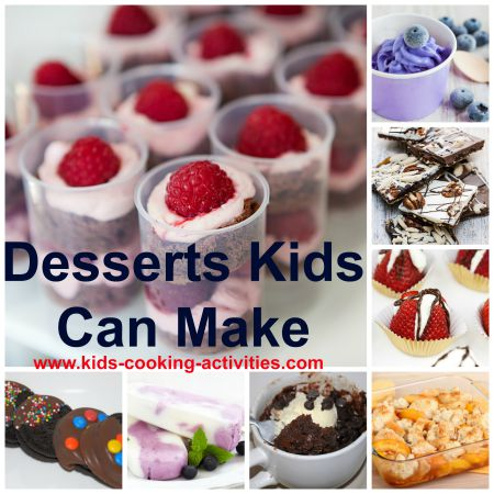 desserts kids can make