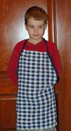 sew an easy kids apron