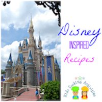 disney inspired theme recipes