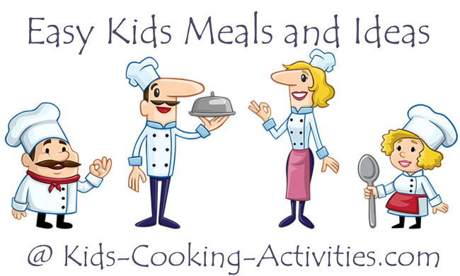 easy kids meals and ideas
