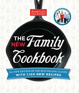 family cookbook test kitchen