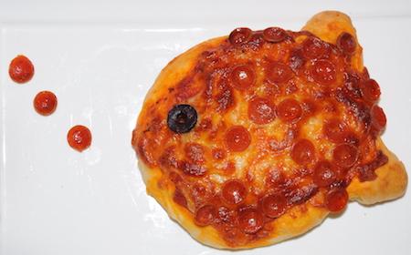 fish pizza