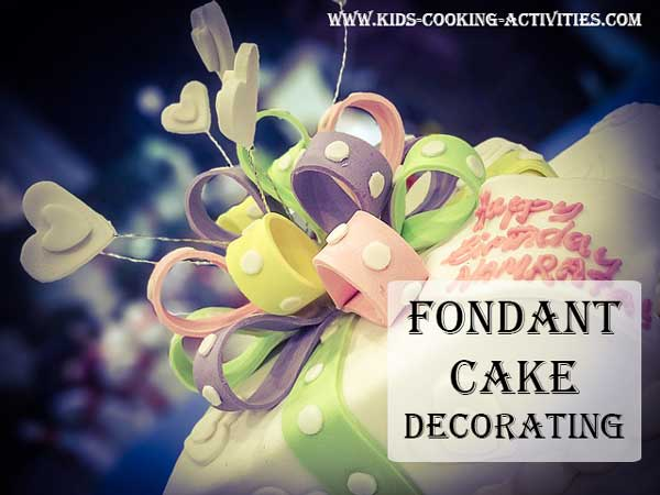 fondant cake decorating help