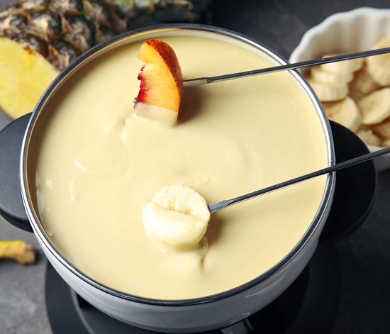 fondue fruit