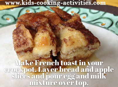 french toast in crockpot