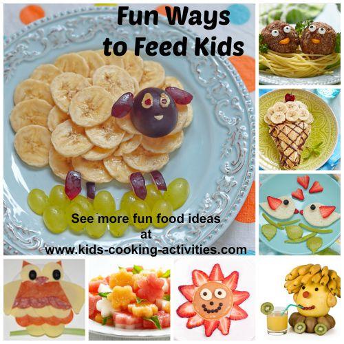 fun ways to feed your kids ideas