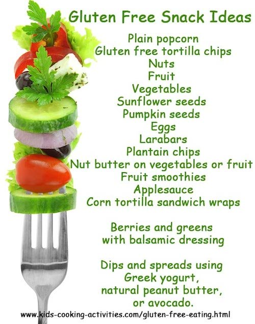gluten free snack ideas