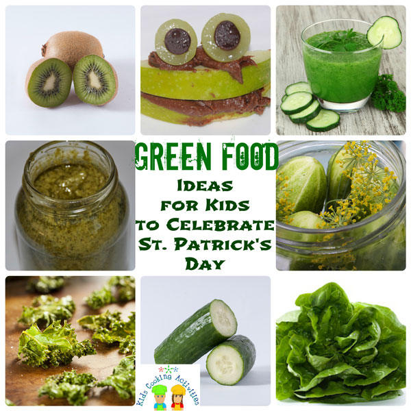 green food ideas for st. patrick's day