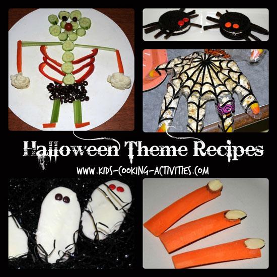 halloween theme recipe ideas