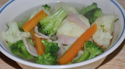 ham vegetable soup