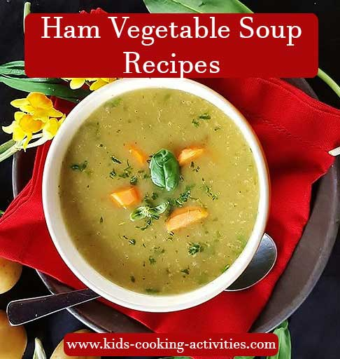 ham vegetable soup recipe