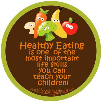 teach your kids healthy eat
