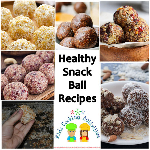 snack ball recipes
