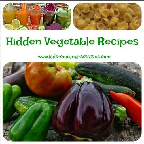 hidden vegetable recipes
